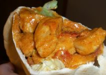 Kylling i pita (NAM!!!)