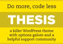 Glabladets Bloggservice: Nå med GRATIS Thesis-theme