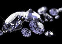 Diamanter lages under press
